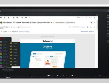 Enregistrement et éditeur vidéos maintenant intégrés dans Lectora Online !