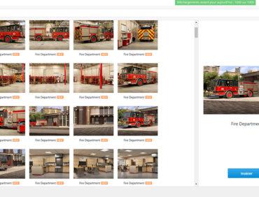 Bibliothèque de contenu iSpring : nouveaux personnages, emplacements et icônes – thème incendies