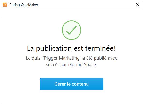 ispring quiz space publication terminee