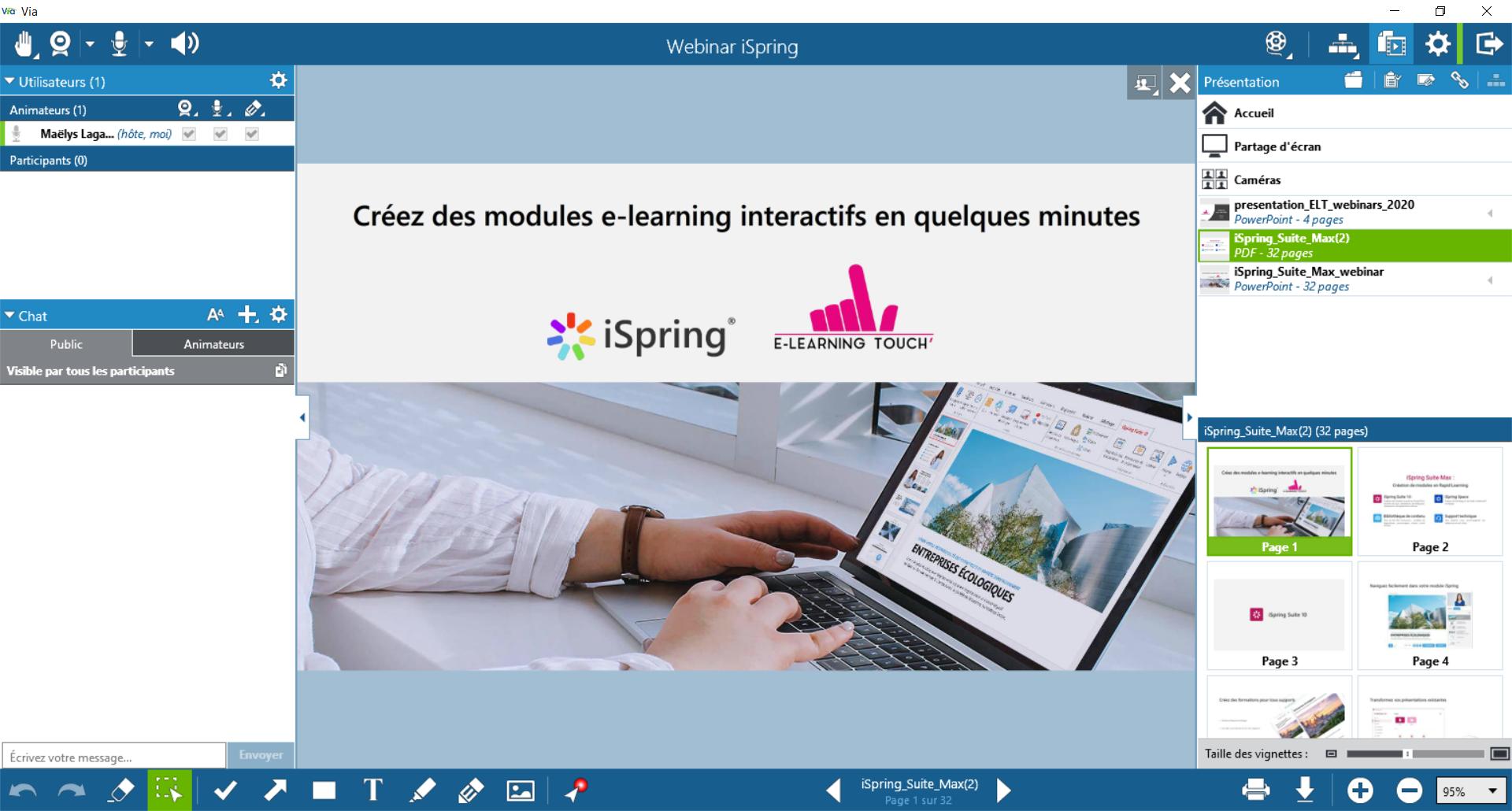 classilio classe virtuelle ispring