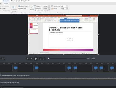 iSpring Cam Pro : Enregistrement et montage vidéo simple et rapide