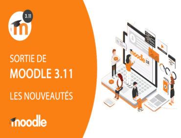 Sélection des meilleures nouveautés Moodle 3.11