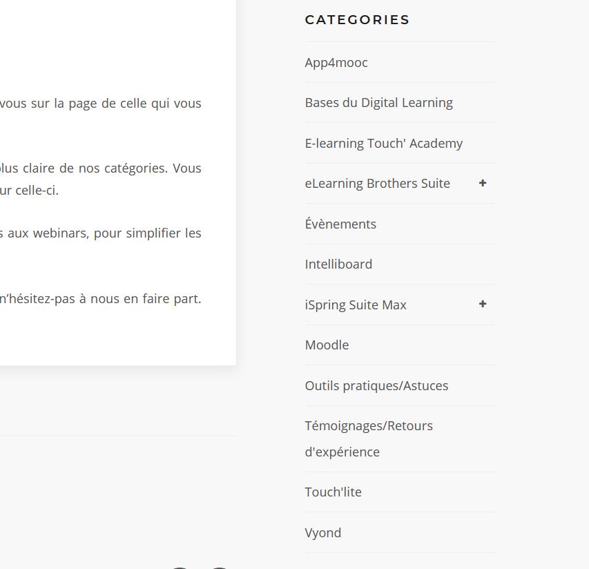categories site elt 2021