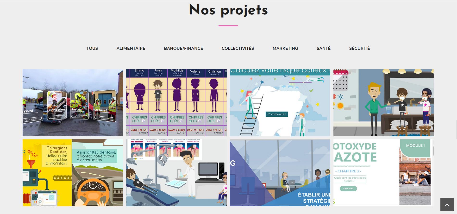 projets site elt 2021