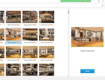 Bibliothèque de contenu iSpring : nouveaux personnages, emplacements et icônes – thème loisirs des centres commerciaux